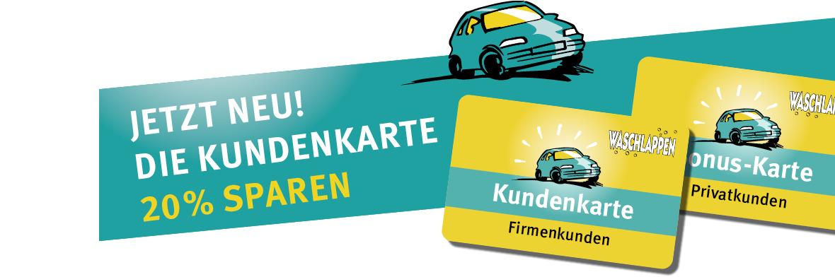 Kundenkarte Waschstraße Köln